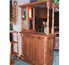 Muebles de algarrobo living bares barras for Mueble de algarrobo para living